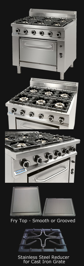 Desco USA gas range